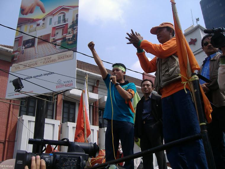 Advokasi Buruh bersama Serikat Pekerja PT.DI