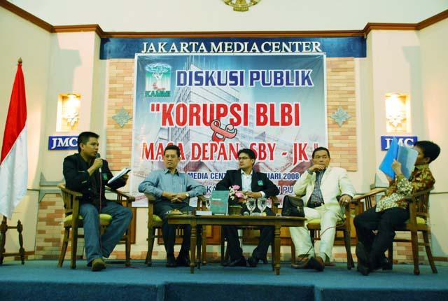 Ariyanto Menjadi Moderator Diskusi Nasional