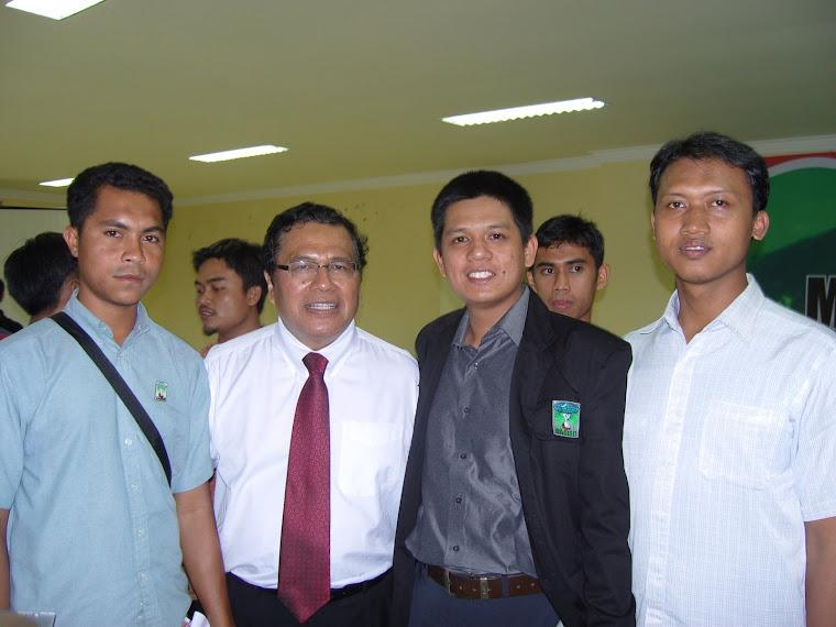 Bersama DR. Rizal Ramli (Bakal Capres RI 2009)