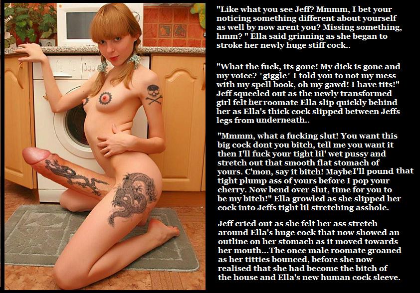 Extreme hypnotized she male slut captions need
