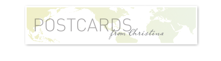 Postcards from Christina
