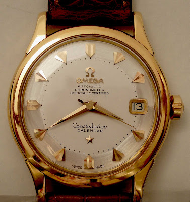 Omega Constellation refinished watch dial