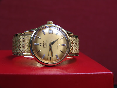 Omega Constellation Diamond Dials replica watch
