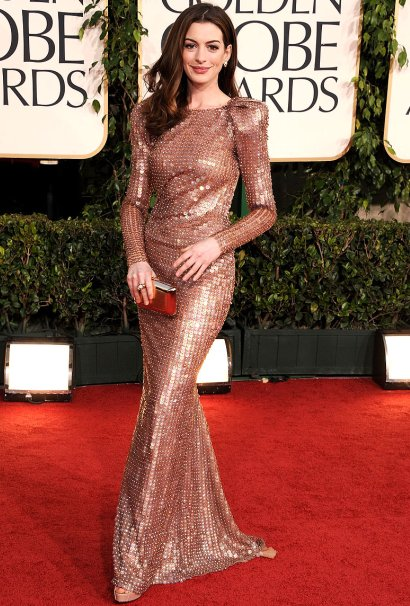 Anne Hathaway 68th Annual Golden Globe Awards. 68th Golden Globe Awards of