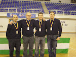Entrenadores Selección Andaluza - Subcampeones de España