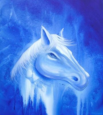White horse original acrylic