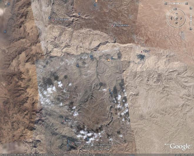وادي الحسا-- عين عفرا و بربيطة