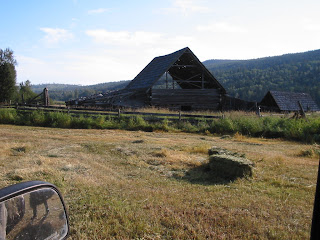old+barn Bringing in the Hay