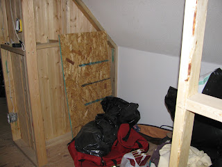A Closet in the Loft Upstairs