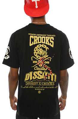 SST08 263 BLKzoom5 Crooks and Castles X DISSZIT!