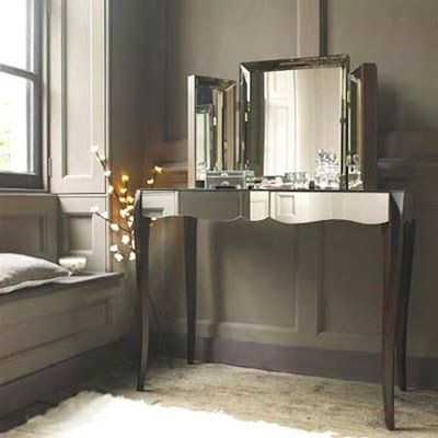 Mrs boho habitaciones un tocador de espejo en mi habitaci n - Habitacion con tocador ...