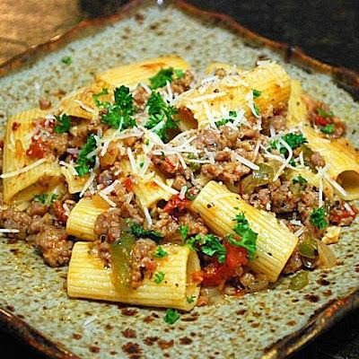 Johnsonville Italian Sausage, italian sausage skillet slop
