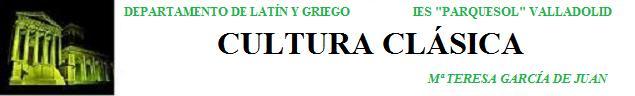 CULTURA CLÁSICA 3º