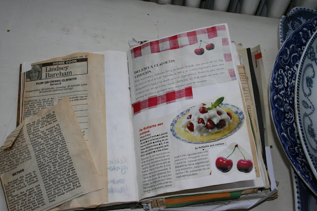 My homemade recipe book