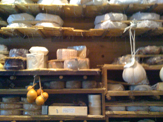 cheeses at La Fromagerie in Moxon St