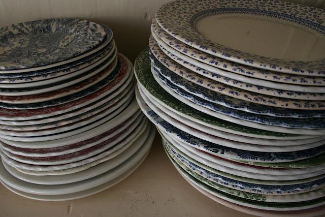 plates at the Underground Restaurant