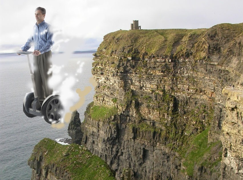Inventor Of Segway Falls Off Cliff