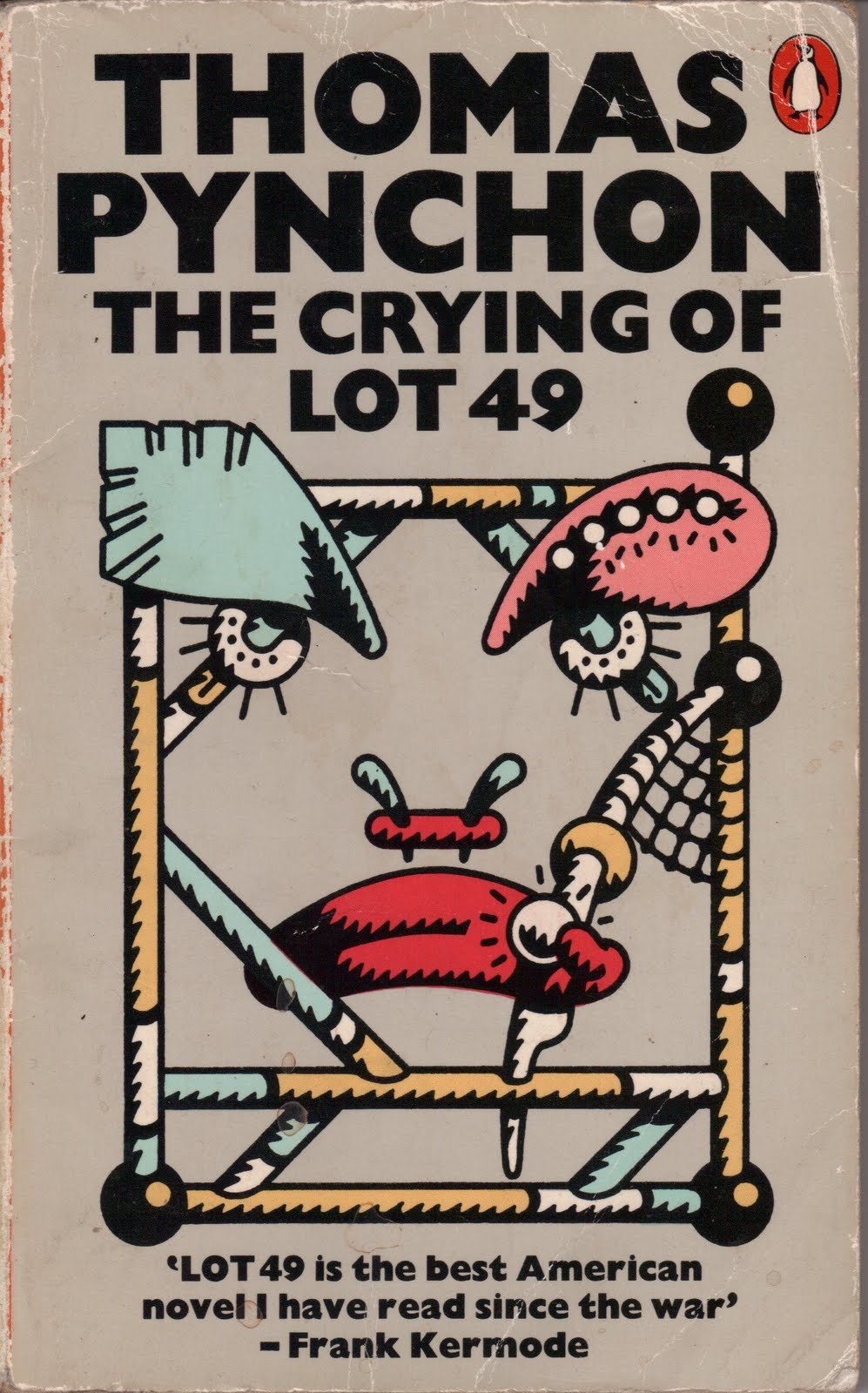 thomas pynchons the crying lot 49 essay Read this full essay on character analysis of oedipa in the crying of lot 49   1565 words - 6 pages in thomas pynchon's novel the crying of lot 49, we meet .