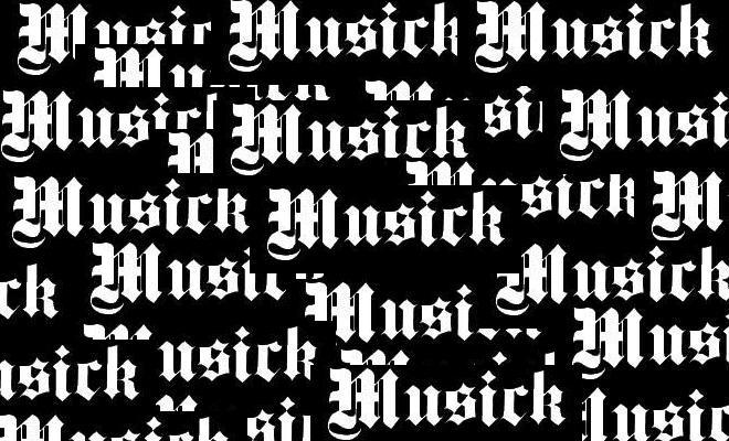 Musick.