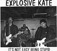 "Explosive Kate - ""It's Not Easy Being Stupid"" 7"""