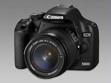 Mijn camera Canon EOS 500D