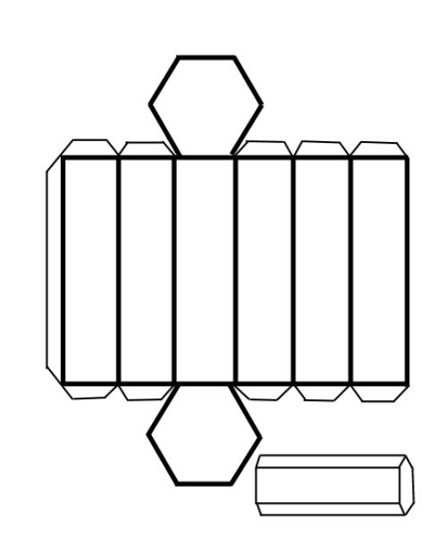 Maestra, yo no he sido: Plástica Desarrollo de poliedros. Prismas ...
