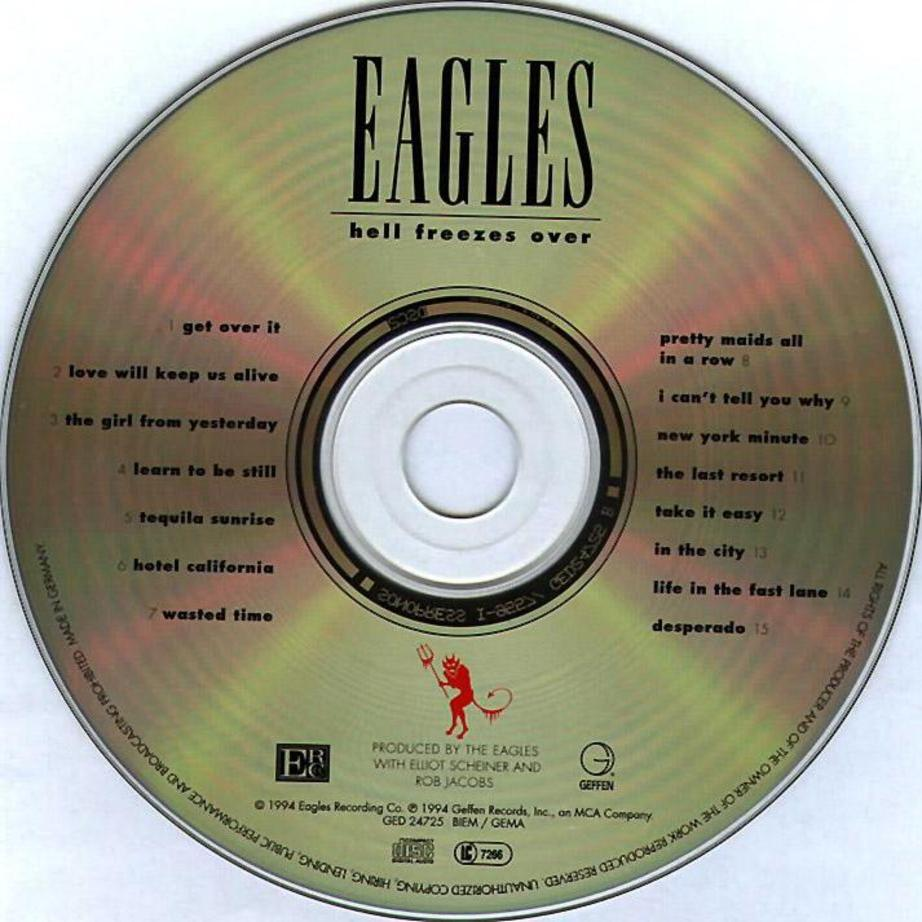 Musicotherapia: The Eagles - Hell Freezes Over (1994)