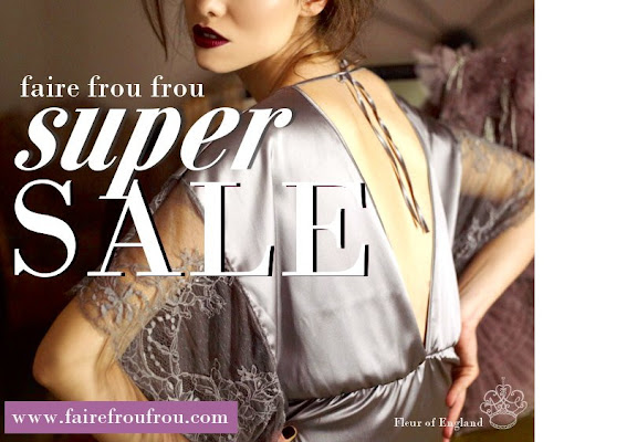Super SALE at Faire Frou Frou