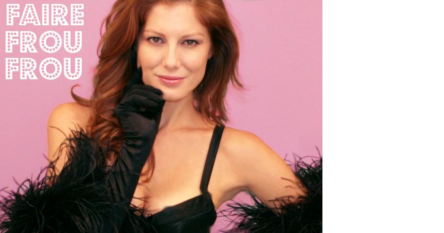 Burlesque Ostrich Feather Feature Frou Frou Fashionista