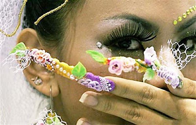 Asia beauty 2007 nail design