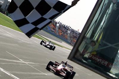 Ferrari at the Grand Prix In Turkey