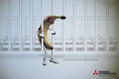 Mitsubishi Refrigerators ads