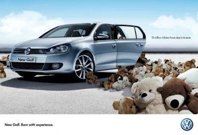 Volkswagen print advertising