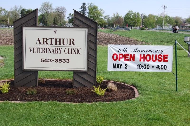 Arthur Veterinary Clinic The 20th Anniversary Open House