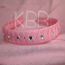 Woven Headband with Rhinestones