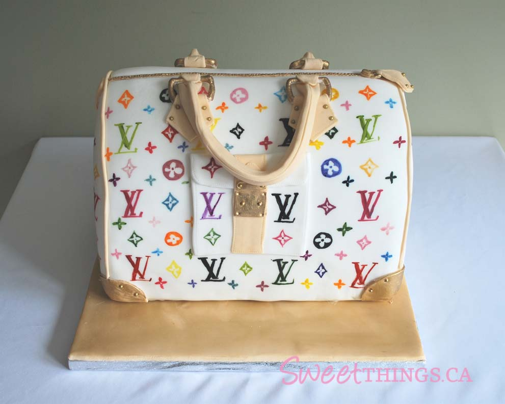 Sweetthings Louis Vuitton Purse Cake