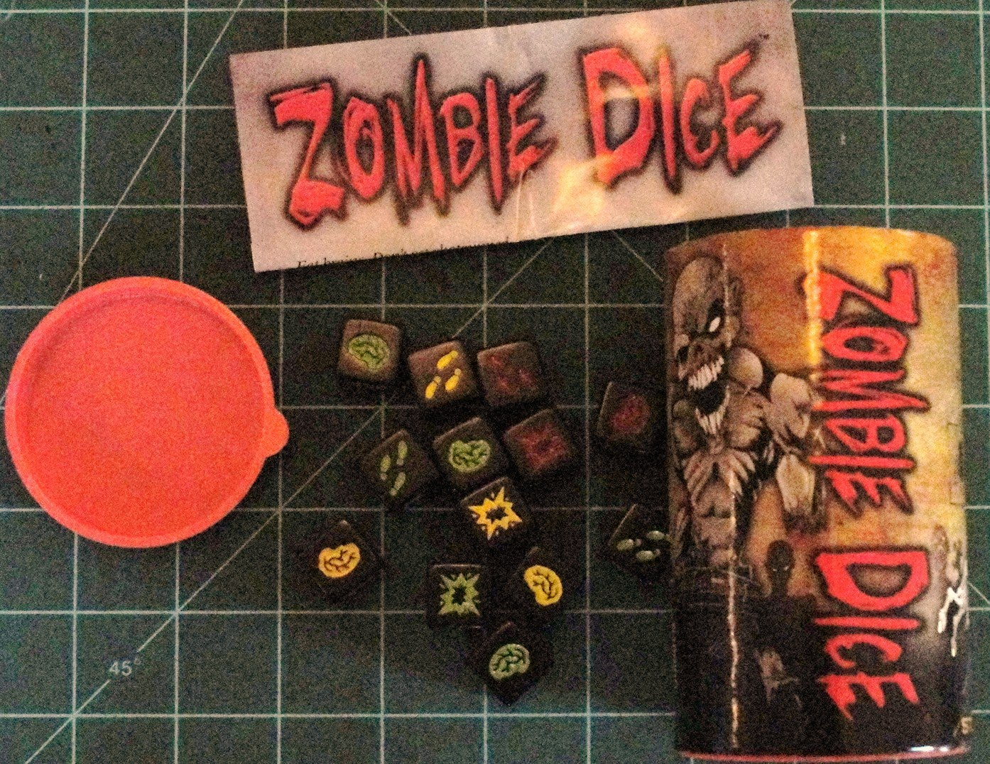 zombie dice game rules