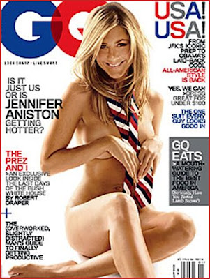 Jennifer Aniston Naked for GQ