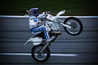 Robbie Knievel,The Famous Stuntman Is Son of Legendary Daredevil Evel Knievel