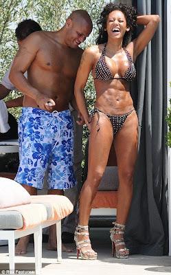 Stunning Mel B hot bikini