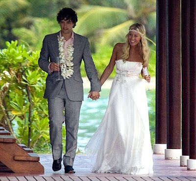 Denise Van Outen  Tie The Knot With Lee Mead