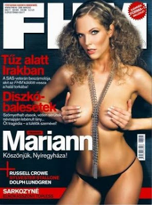 hot Mariann Fogarassy nude fhm photos
