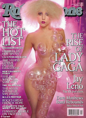 Lady Gaga Poses nude, naked for Rolling Stone Cover