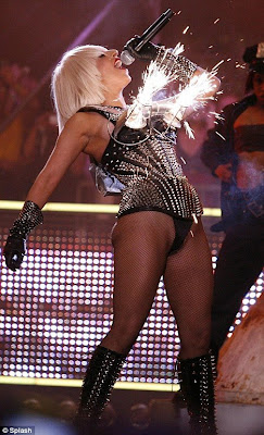 Lady GaGa Sets The Stage On Fire at Much Music Awards