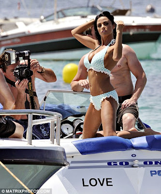 Katie Price hot Raunchy Photoshoot  for New Swimsuit Calendar