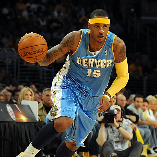 carmelo anthony 2010