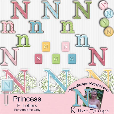 http://kittenscraps.blogspot.com/2010/01/princess-letter-n-freebie.html