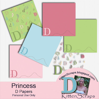 http://kittenscraps.blogspot.com/2009/10/princess-d-paper-freebie.html