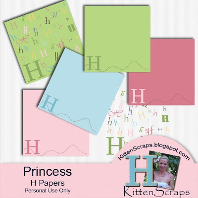 http://kittenscraps.blogspot.com/2009/11/princess-h-paper-freebie.html