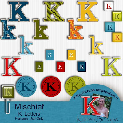 http://kittenscraps.blogspot.com/2009/12/mischief-letter-k-freebie.html